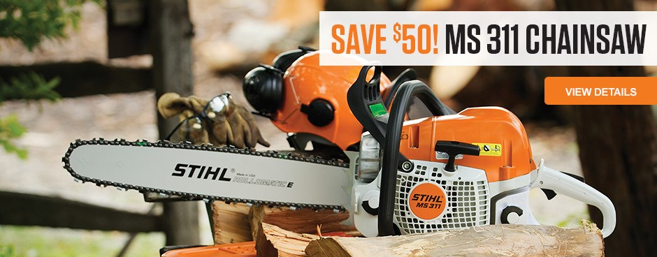 Save Now on the MS 311 Chainsaw